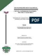 Estudio de Calidad en El Consumo de Energia Electrica Residencial