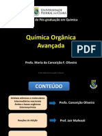 AULA Organica Avancada 2014