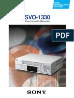 3068 SVO 1330 Sony Brochure