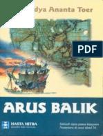 Pramoedya Ananta Toer-Arus Balik Sebuah Epos Pasca Kejayaan Nusantara Di Awal Abad 16 -Hasta Mitra1995