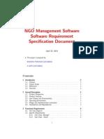 SRS Document NGO Management system