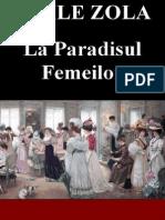 EMILE ZOLA - La Paradisul Femeilor