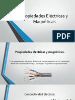 Propiedades Eléctricas y Magnéticas