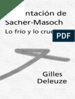 DELEUZE GILLES - Presentacion de Sacher Masoch