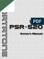 Manual Yamaha Psr520e (1)