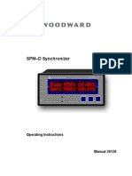 Woodward SPMD 11 Manual