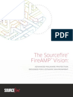 Sourcefire FireAMP Vision White Paper- Advanced Malware Protection Designed for a Dynamic Environment