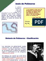 Sintesis de Polímeros