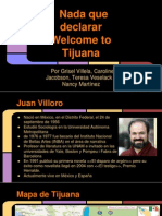 Welcome to Tijuana