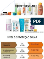 Use Protetor Solar