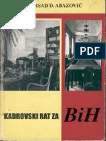 55124590 Kadrovski Rat Za BiH Abazovic Mirsad