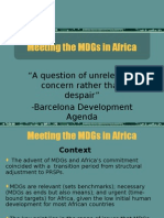 Meeting the MDGs in Africa (UN ECA MDG presentation.ppt)