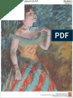 Degas a Master Among Masters the Metropolitan Museum of Art Bulletin v 34 No 4 Spring 1977
