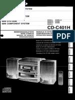 Sharp CD c401h