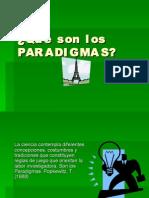 Paradigmas en ciencia