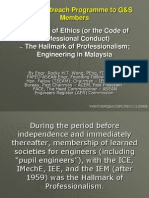The Code of Ethics by Engr Rocky Wong