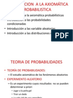 Introduccion a Las Probabilidades y Variables a