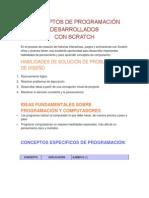 Conceptos de Programación Desarrollados