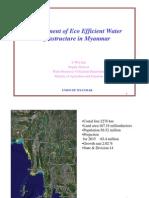 Development of Eco Efficient Water Infrasturcture in Myanmar