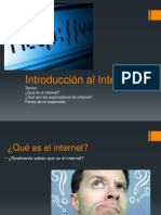 Introducción Al Internet