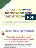 Diez Nuevas Competencias Para Enseñar.ppt [Autoguardado]