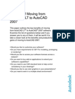 AutoCAD 2007 White Paper Benefits of Moving From AutoCAD LT to AutoCAD 2007