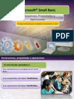 1.2 - Declaraciones Propiedades y Operaciones