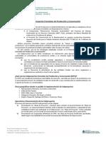 Subproyectos de Producción y Conservación - Cartilla