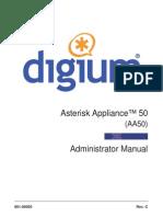 Asterisk Appliance 50 Admin Manual
