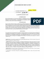 Acuerdo Ministerial 1505 2013