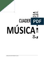 Cuaderno Musica