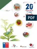 Libro 20 Buenas Razones Para Comer en Familia