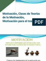Clase 4Motivación, Clases de Teorías, Motivación Para El Trabajo Clase 4a