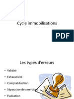 Cycle Immobilisations Et Stock