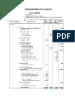 Presupuesto Analitico Anapati