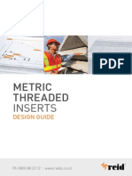 Threaded Insert Design Catalogue