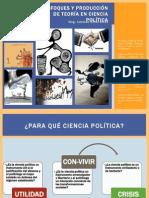 3 Enfoques Para La Producción de Teoría en Ciencia Política