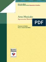 Artes Musicales Apreciacion Musical 3 o 4to Medio
