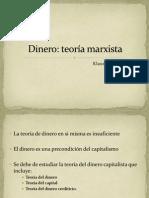 Teoria Marxista Del Dinero