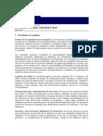 Impuestos en Argentina(1)