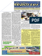 The Village Reporter - April 23rd, 2014