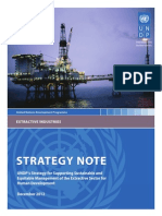 Strategy Note_Extractive Sector PNUD