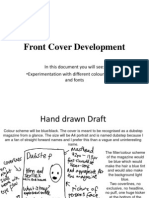 Front Cover Development