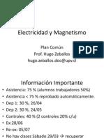 Clase 1 Electricidad