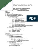 Origen y Destino de Las Cuentas Del Patrimonio Neto Junio 2010