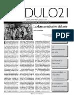 Pendulo21_53 La Democratizacion Del Arte