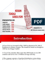 Communication Tools of Coca Cola