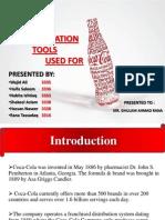 Communication Tools of Coca Cola