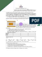2ª Individual de Matemática 6ª Ano (16!04!2014)