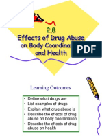 Effects of Drug Abuse on Body Coordination And